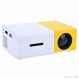 2019 Yg300 Led Portable Projector 400 600lm 3 5mm Audio