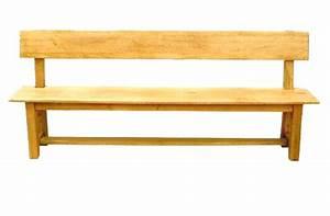 Banc De Cuisine : banc de cuisine en bois avec dossier id es d coration ~ Premium-room.com Idées de Décoration