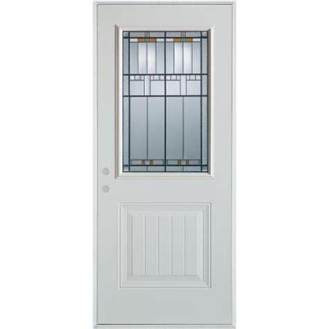 stanley doors 32 in x 80 in architectural 1 2 lite 1