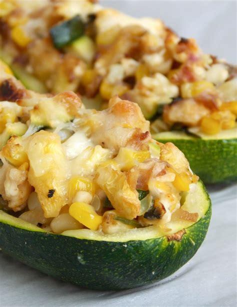 Stuffed Zucchini Boats Recipe by Stuffed Zucchini Boats Recipe Dishmaps