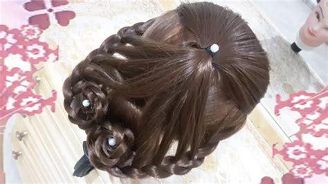 peinados faciles   de san valentin rapidos  bonitos  cabello largo youtube