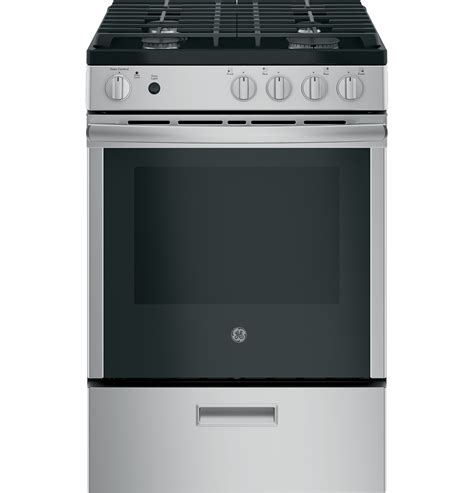 ge jgasrmss  steam clean  standingslide  gas range  appliances