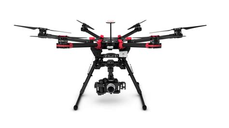 folding DJI spreading wings S900 is a carbon fiber photography drone