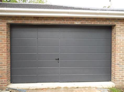 hormann garage doors hormann sectional garage door fitted in camberley surrey