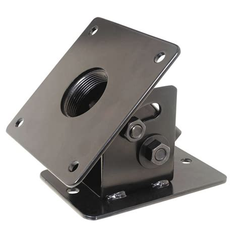 Angled Ceiling tv mount cathedral ceiling plate for 1 5 inch npt pipe