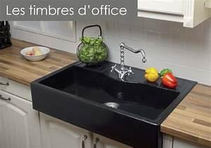 Evier Cuisine En Pierre : evier en granit et pierre naturel cuisine douillet ~ Premium-room.com Idées de Décoration