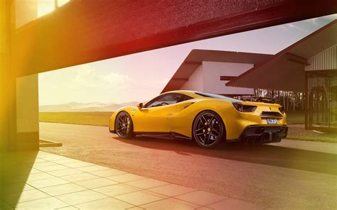 2016 Novitec Rosso Ferrari 488 Gtb, Hd Cars, 4k Wallpapers