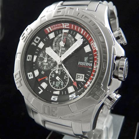 festina f16177 8 tour chrono bike 05 messieurs alarme