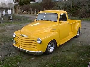 Bc99e05 1949 Yellow Chevy Truck  Kelowna In 1999