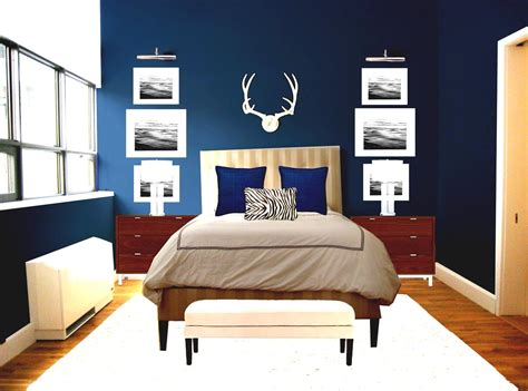 Romantic Blue Master Bedroom Ideas With Bed For Couple