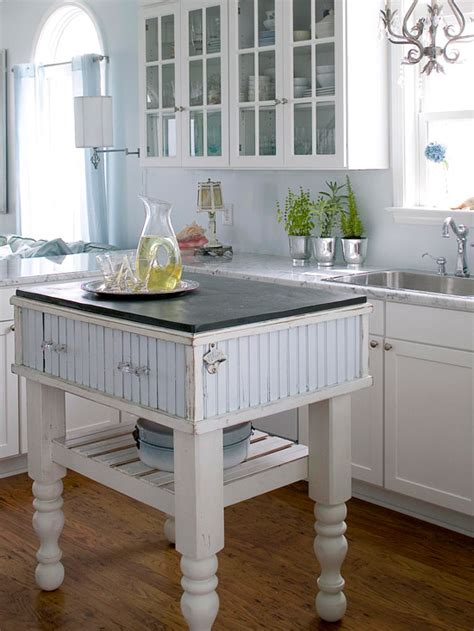 small space kitchen island ideas bhgcom  homes