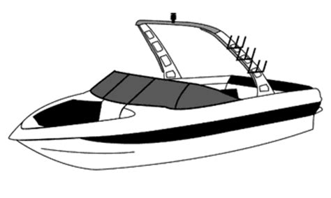 Malibu Boat Drawing by Ski Boat Clipart 101 Clip
