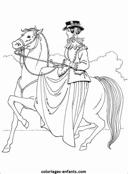 Coloriages Coloring Pages Coloriage Riding