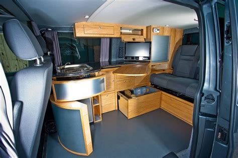 Dodge grand caravan camper conversion kit. outside van - Google Search | Campervan interior, Camper ...