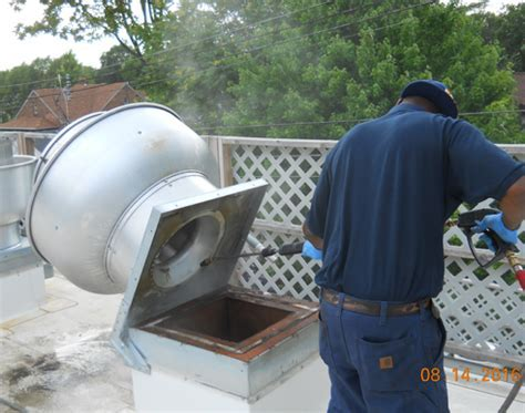 ISC Clean   Kitchen exhaust fan cleaning   Restaurant