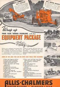 Used Allis Chalmers Equipment Parts  U0026 Manuals For Sale