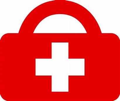Aid Medical Kit Clipart Scheme College Box