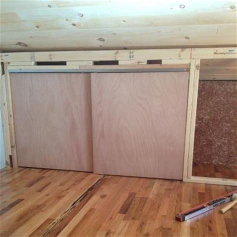using space efficiently knee wall closet built ins