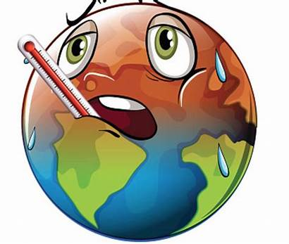 Climate Change Global Clipart Warming Drawing Children