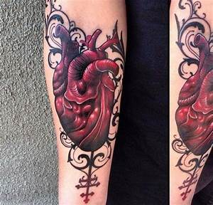 1000+ ideas about Anatomical Heart Tattoos on Pinterest ...
