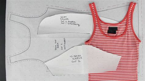 create patterns  existing clothing simple