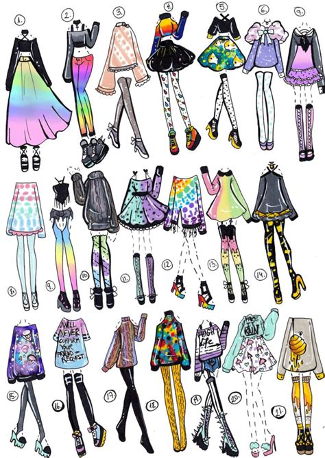 CLOSED- 21 pack by Guppie-Adopts   Clothing Designs and Characters   Pinterest   21st Drawings ...