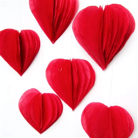 valentines decorations 19 easy diy paper decorations for valentine s day shelterness
