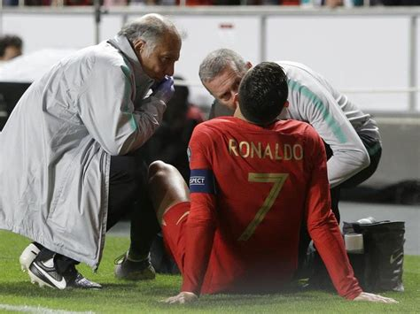 Juventus confirm Cristiano Ronaldo has suffered minor ...
