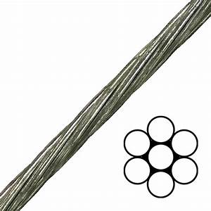 7  16 U0026quot  1x7 Ehs Galvanized Guy Strand Cable