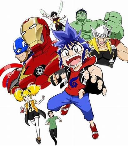 Avengers Marvel Future Anime Comic