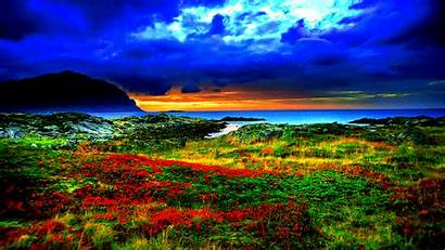 Nature Colorful Themes Landscape Scenery Flowers Landscapes