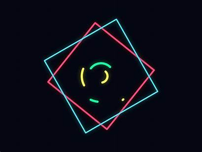 Shapes Lines Dribbble Graphic Motion Animation Shape