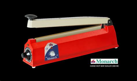 monarch appliances packaging machinery hand sealer foot sealer liquid sealer continuous