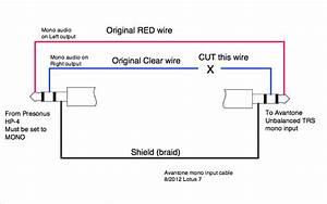 Xlr To Mono Jack Wiring Diagram Sample