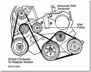 I Need Diagram For Belt Routing On Dodge Caravan 1996 3 0l
