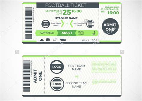 sports ticket templates psd ai vector eps