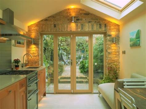Galley Style With Patio Door & Brick, Victorian Cottage