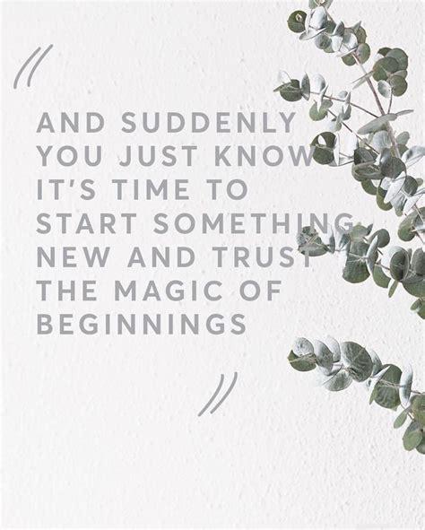 Quotes New Journey Starts
