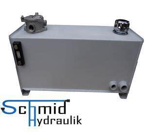 hydrauliktank  liter hydraulikoeltank schmid hydraulik