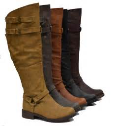 womens boots knee womens the knee high boots w flat heel high quality hq lining ebay