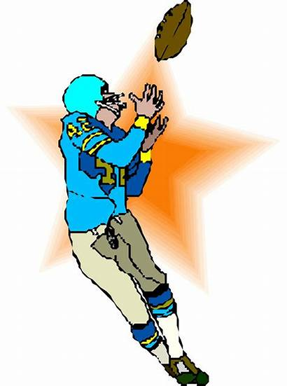 Receiver Clipart Pass Clip Wide Football Clipground