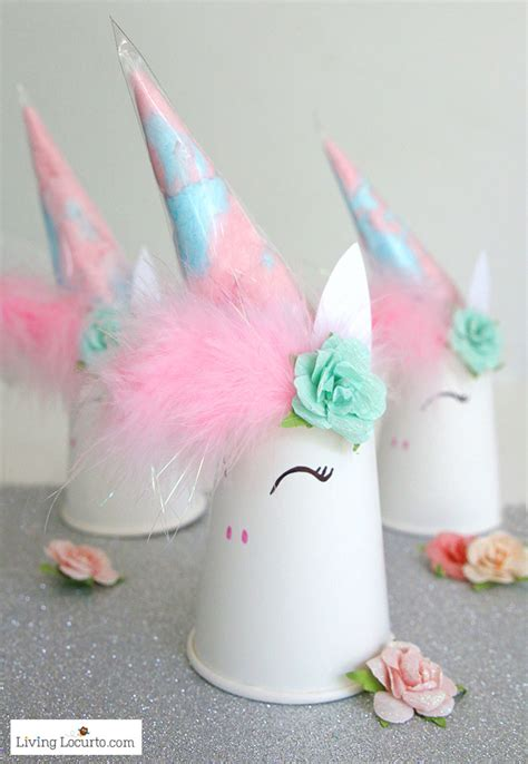 Cheap Outdoor Kitchen Ideas - unicorn cotton candy party favors unicorn party ideas