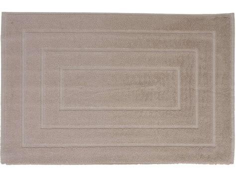 tapis salle de bain cawa coloris taupe chez conforama