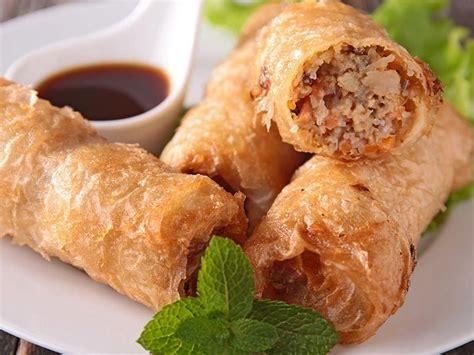 cuisine poulet nems au poulet blogs de cuisine