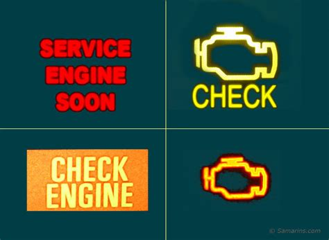 what does the check engine light check engine light what to check common problems repair