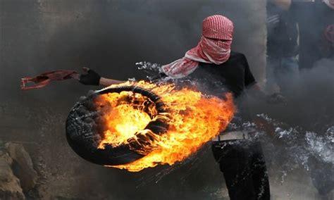 Millions Of Tyres Burn In Kuwait