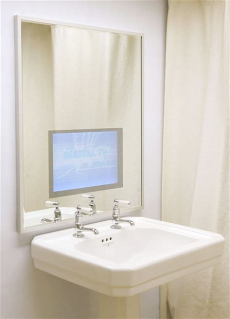 Waterproof Mirror Tv Bathroom by Waterproof Bathroom Television Vanity Mirror Tv