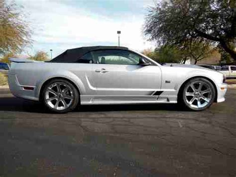 Sell Used 2006 Saleen Mustang Convertible In Scottsdale