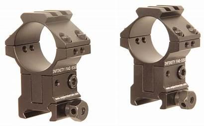 Eagle Adjustable Vision Mounts 30mm Infinity Scope