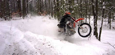 cold weather riding preparation dirt bike magazine